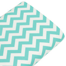 Cotton Print Fabric FQ 10mm Zig Zag Chevron Stripe Dress Quilting Patchwork VK49