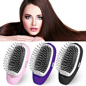Electric Ionic Comb Anti-Static Brush Scalp Massager Hair Comb Hairbrush