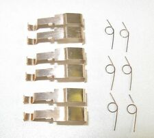 Tyco HO Slot Car Parts- (3 sets each) Shoes & Springs for 440x2/HPX2  /BSRT,Tomy