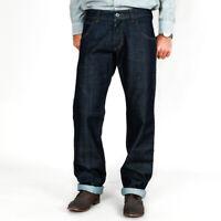 Bikkembergs Herren Designer Regular Fit Raw Jeans Hose Made in Italy | W29, W30