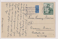 Bizone, Mi. 103a EF, Heidelberg 12.7.49, MWS Tuberkulose
