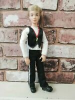 Mattel My Scene Hudson Ken Doll Redressed Masquerade Madness Articulated