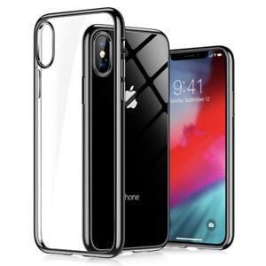 Schutzhülle Silikon - Für iPhone 6 7 8 Plus XR X XS MAX 11 Slim TPU Case - Klar