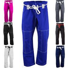 Max5 BJJ Gi Full Blank Brazilian Jiu Jitsu Gi Pants MMA Grappling Uniform