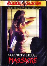 Sorority House Massacre (DVD, 2000) New