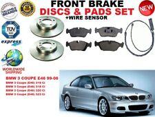 für BMW 3 E46 Coupe 99-06 Vorderbremse Scheibensatz + Bremsbelag Satz +