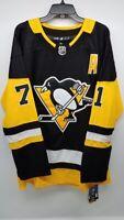 Evgeni Malkin Pittsburgh Penguins Adidas Home NHL Jersey New