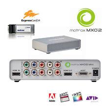 Matrox MXO2 Mini I/O-Box f. Notebook Expresscard HDMI 8 channel Audio, analog YC