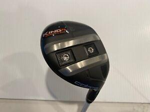 Cobra KING Baffler F6 fairway golf club: 4/5-wood, adj. 16-19 deg w/Rogue X-FLex
