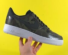 Nike Air Force 1 'Olive Reflective Camouflage' Men's Shoes Size 12 [823511-201]