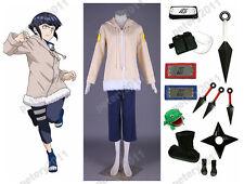 Naruto Hyuuga Hinata 1st Womens Cosplay Costume Set