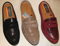 G.H. Bass & Co. Nicole Flex Step Mule Leather Loafer Choose your size and color