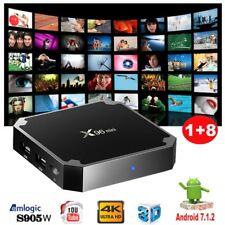 4K X96MINI Nougat Android 7.1.2 Quad Core Media Player 1+8G Smart TV BOX WIFI FR