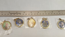 Anime Game Keychain Charm Lot Set of 5 Bravely Default and others Unknown