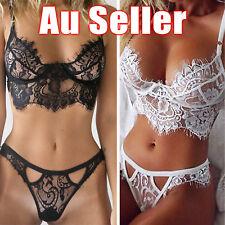Womens Sexy/Sissy Lingerie Lace Babydoll G-String Thong Nightwear Underwear S-XL