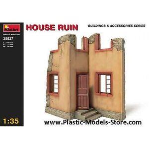 Miniart 35527 - 1/35 House Ruin Building Diorama