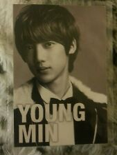 Boyfriend youngmin i'll be there official Rare Photocard  Card Kpop K-pop