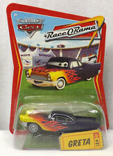 💥NEW Disney Pixar World of Cars Race-O-Rama #81 Greta Die-Cast Vehicle!💥