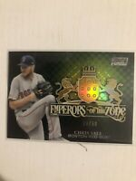 2020 Stadium Club Chrome Chris Sale Emperors Of The Zone Gold Refractor 08/50