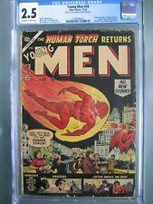 Young Men #24 CGC 2.5 Atlas Comics 1953 Origin & return of Captain America