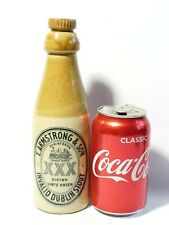 More details for armstrong dipton stone xxx invalid stout bottle + stopper a/f cracked #4
