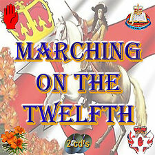 MARCHING ON THE TWELFTH -  2 CD's - *44 HITS* *NEW* - LOYALIST/ULSTER/ORANGE CD*