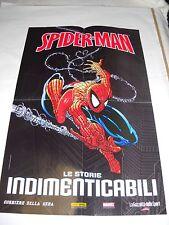 LOCANDINA POSTER SPIDERMAN L' UOMO RAGNO Todd McFarlane Doble face Size RARE!