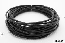 15FT - 2mm Genuine Round Cowhide Real Leather Cord Bracelet Necklace DIY String