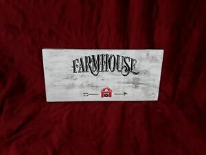 Solid Wood Farmhouse Sign