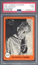 1961 HORROR MONSTER THE HAUNTED STRANGER # 123 PSA 7 NM (5047)