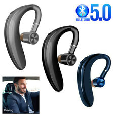 Bluetooth 5.0 Headset Wireless Ear Hook Earphone Noise Reduction Calling Music