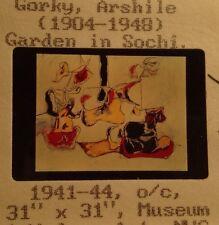 "Arshile Gorky ""Garden Sochi"" Armenian Abstract Expressionism 35mm Art Slide"