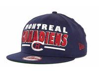 Montreal Canadiens Retro Sting New Era 950 NHL Flat Bill Snapback Hockey Hat Cap