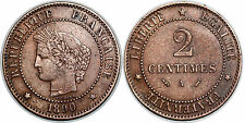 3 EME REPUBLIQUE 2 CENTIMES CERES 1890 A