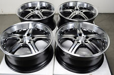17 5x112 Wheels Fits Mercedes Benz Audi E320 E350 Volkswagen GTI Golf Rims