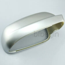 Right DRIVER SIDE SILVER PAINT WING DOOR MIRROR COVER FOR VW GOLF MK4 1996-2003