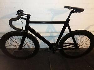 Fahrrad VSR Bikes Diamant 54 cm Fixi / Sioglespeed 28 Zoll Schwarz Pista Pro