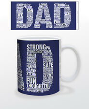 DAD-COLLAGE 11 OZ COFFEE MUG TEA CUP PARENT FATHERSDAY UNCONDITIONAL ROLE MODEL!