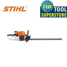 Stihl Hs45 24Inch Petrol Hedge Trimmer Elastostart Double Sided Strimmer Cutter