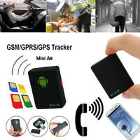 Mini A8 Real-time GPS Tracker Locator GSM/GPRS Anti-lost Car Kid Tracking Device