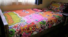 Moshi Monsters Single Quilt Doona Cover & Pillow Case Set VGC