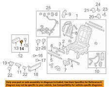 HONDA OEM Seat Track-Seat Adjust Knob 81651SDBA71ZA