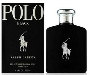 POLO BLACK by Ralph Lauren 4.2 oz edt Cologne for men New in Box