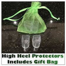 Pair High Heels Stiletto Stoppers Protectors Wedding Favours & Organza Gift Bag