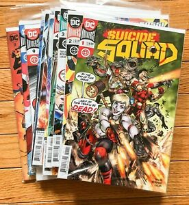 2020 SUICIDE SQUAD #1-11 (Complete Set / Run) - DC, Harley Quinn, Variants VF/NM