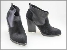 ZU WOMEN'S FASHION ANKLE HIGH HEEL PULL-ON BOOTS SHOES SIZE 10