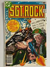 Sgt Rock #316  (DC Comics, 1978)