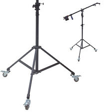 7ft Boom Stand w/ 8ft Boom Stand, Wheels, Crank Adjustment Foldable Photo Studio