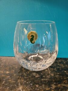 """NEW Waterford Crystal ENIS  Stemless 4""""  Red Wine Whiskey Glass - no box-"""