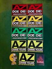 Az stickers hip hop vintage New
